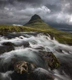 Photograph Gandalf's hat!irkjufell mountain. Snaelfness, Iceland. by Daniel Kordan on 500px