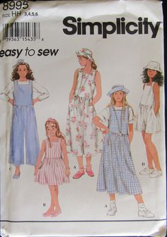 1//2-1-2-3 Simplicity Sewing Pattern 2193: Toddlers and Childrens Dresses Project Runway Collection Patterns by Simplicity Creative Group Inc Size Aa