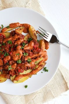 Low-Fat Chili Cheese Fries - The Vegan 8