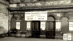 Abandoned London tube station - St Mary's, opened closed It was used as an air raid shelter and bombed during WWII. Vintage London, Old London, East London, London Pride, London Underground Train, London Underground Stations, Cycling In London, Disused Stations, Air Raid