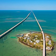 #Summer is here, and that means road trips! Check out one of the nation's most beautiful #highways: the 150-mile #OverseasHighway. Originally developed for the #Florida East Coast Railway, the 120-mile route was wiped out by the Labor Day Hurricane in 1935 and converted into a road connection with the #FloridaKeys.