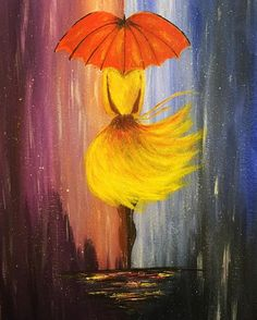 Be strong coz things will get better.It might be stormy now but it won't rain forever ☔️ . Forever Girl, Acrylic Paintings, Get Well, Rain, Strong, Artist, Beautiful, Instagram, Rain Fall