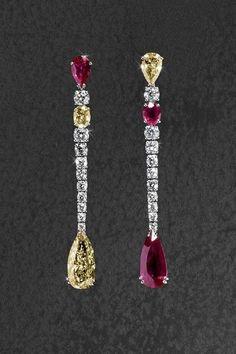 Read information on ~ diamond earrings High Jewelry, Luxury Jewelry, Modern Jewelry, Body Jewelry, Fancy Jewellery, Vintage Jewelry, Handmade Jewellery, Handcrafted Jewelry, Jewelry Box
