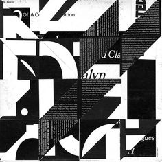 Graham Moore. Collage.  Typography gone awesome!!!!