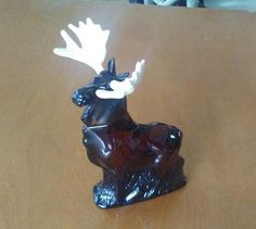 Check out this item in my Etsy shop https://www.etsy.com/listing/489557640/vintage-avon-moose-cologne-bottle-brown