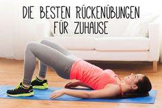 Rückentraining für einen starken Rücken kann Rückenschmerzen verhindern. Wir zeigen dir die besten Rückenübungen für zuhause.