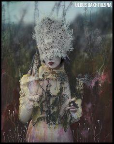 Photo-based artist Uldus Bakhtiozina creates unique vision of Russian fairy tales.