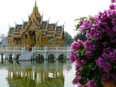 Bangkok, Thailand...such intricate architecture...would love to see this.