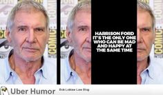 Ambivalence Harrison Ford
