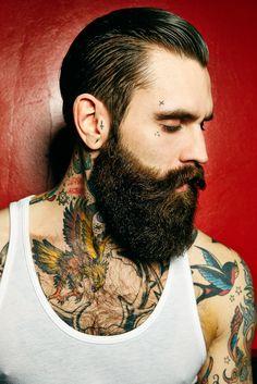 """Ricki Hall, """"la"""" barba por excelencia..."""