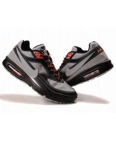 12233c936ca Nike Mens Air Max BW Trainers In Dark gray Black Orange Air Max Classic,  Nike