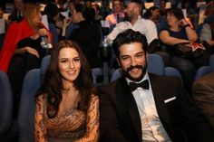 Fahriye & Burak from the premier of Ask Sana Benzer Movie jan 2015).