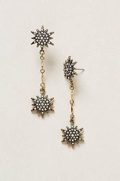 Star Blaze Earrings from Anthropologie. Saved to Epic Wishlist. Shop more products from Anthropologie on Wanelo. Funky Jewelry, I Love Jewelry, Jewelry Box, Jewelery, Jewelry Accessories, Diy Jewelry, Anthropologie, Green Wedding Shoes, Couture
