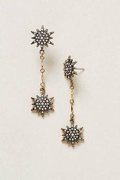 Anthropologie - Star Blaze Earrings