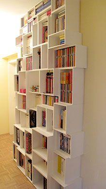 The design bookcase.