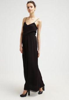 Samsøe   Samsøe - ALEEN - Maxikleid - black Kleider Online Kaufen,  Damenbekleidung, Schwarz 6eeace72e4
