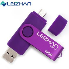 LEIZHAN USB Flash Drive Smart Phone 4gb 8gb Pendrive OTG Metal Pen Drive 16gb pendrive usb memory32gb USB Stick Flash Drive 64GB