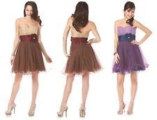 The sweet and sexy dress strapless short dress.  Available in two colors at $93.99!
