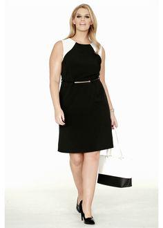 Kleid mit Gürtel schwarz - BODYFLIRT jetzt im Online Shop von bonprix.de ab ? 36,99 bestellen. Figurbetontes Etui-Kleid in uni oder schwarz-weiß erhältlich. ...