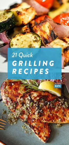 21 Quick Grilling Recipes for Summer Weeknights 21 Quick Grilling Recipes for Summer Weeknights. Grilled Halibut, Corn Recipes, Lemon Recipes, Healthy Grilling Recipes, Cooking Recipes, Weeknight Recipes, Grilled Italian Sausage, Recipes