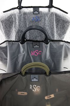 Perfect gift for the holidays, Monogramed Handbag Raincoat! #getpersonal