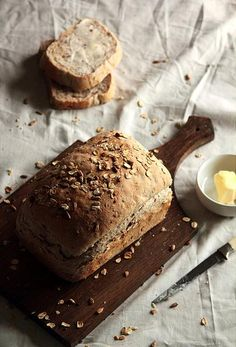 Multigrain Bread via Pastry Affair Bread Bun, Bread Rolls, Bread Recipes, Cooking Recipes, Good Food, Yummy Food, Our Daily Bread, Fresh Bread, How To Make Bread