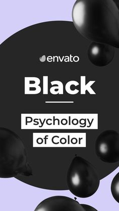 Black is back. Well, let's face it, it never went away. #Black is the total absorption of all colors. It gives ominous overtones, but also symbolizes power and sophistication. Find out how to use #black in your designs in our #ColorPsychology blog via the link in the bio.