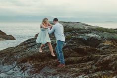 Twilight engagement photography - Jody Wiger Photography