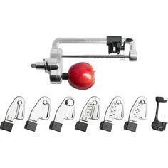 KitchenAid - Spiralizer Plus with Peel, Core and Slice - KSM2APC