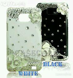 Black and white,brillant cover Galaxy S2, Phone Cases, Black And White, Cover, Technology, Black N White, Black White, Phone Case