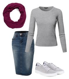 """Untitled #850"" by carrieveland on Polyvore featuring LE3NO, Barbour and Isolde Roth"