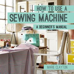 How to Use an Overlocker by Marie Clayton #Sewing