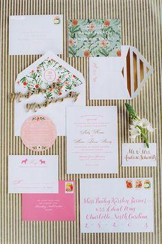 Colorful Fall Wedding in Charleston :: Bailey & Andrew Fall Wedding Decorations, Fall Wedding Colors, Autumn Wedding, Wedding Themes, Custom Wedding Invitations, Wedding Invitation Suite, Mr Mrs, Dream Wedding, Wedding Day