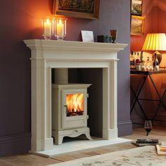 New living room black fireplace log burner ideas Log Burner Fireplace, Wood Burner, Black Fireplace, Fireplace Hearth, Custom Fireplace, Fireplace Design, Log Burning Stoves, Fireplace Surrounds, New Living Room
