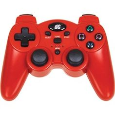 Radium #Wireless #Controller for PS3® - #Red  #Dreamgear DGPS3-1385  PRICE DROP!
