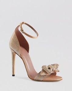Gucci Ankle Strap Sandals - Coline Stud High Heel   Bloomingdales's