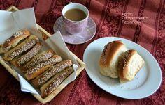 Δημητροκούλουρα η Αγιοδημητριάτικα ή Πλατανιανά κουλούρια – Κρήτη: Γαστρονομικός Περίπλους French Toast, Party, Brunch, Sweets, Bread, Breakfast, Food, Cookies, Brot
