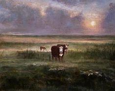 Cow Art, Love Painting, Fine Art Gallery, Mists, Artist, Art Gallery, Artists