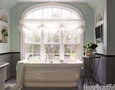 Whether you have a powder room, master bath, or ensuite, these bathroom design pictures will inspire you when you spruce up your own bathroom. Timeless Bathroom, Beautiful Bathrooms, Bad Inspiration, Bathroom Inspiration, Best Bathroom Designs, Bathroom Ideas, Bathroom Colors, Bathroom Wall, Relaxing Bathroom