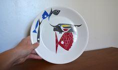 Vintage Figgjo Flint Dining Plate. Hermann Bongard A La Carte Norway Design. Mid Century Modern Dinner Set. Mid Mod Home Scandinavian Decor by catbedoven on Etsy