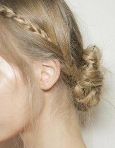 hair at valentino haute couture spring/summer 2013
