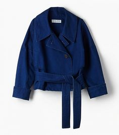 Apiece Apart Aletha Cropped Trench Coat ($495)   Your Ultimate Guide to Spring Jackets via @WhoWhatWear