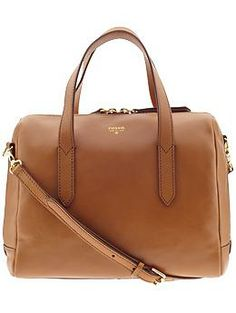 Fossil Sydney Satchel - camel -I love this bag want it so bad!!! <3