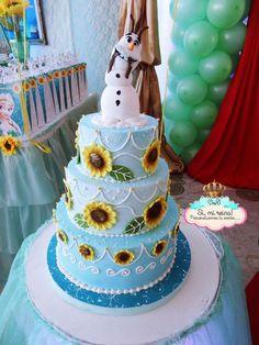 Resultado de imagen para frozen fiebre congelada torta