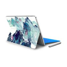 Hot Sale For Micro Surface Pro 4 Vinyl Back Full Decal Tablet Netbook Ultrabook Sticker Landscape Skin Logo Cut Out