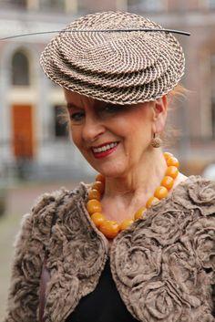 Jacqueline, hat by Mirjam Nuver   MisjaB.nl