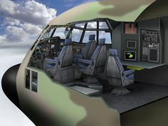 C-130J Cockpit