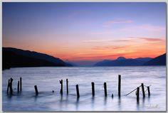 Sunset over Loch Ness