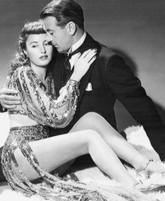 Barbara Stanwyck and Gary Cooper Ball of Fire, 1941