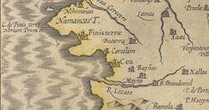 Mapa de Gallaecia Regnum , Mercator (ca. 1611). (C) Instituto Geográfico Nacional de España. El territorio de Nemancos, antiquísimo ar...